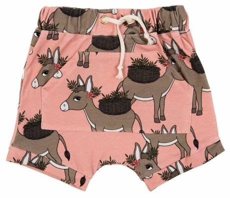 Dear Sophie Donkey Pink Shorts