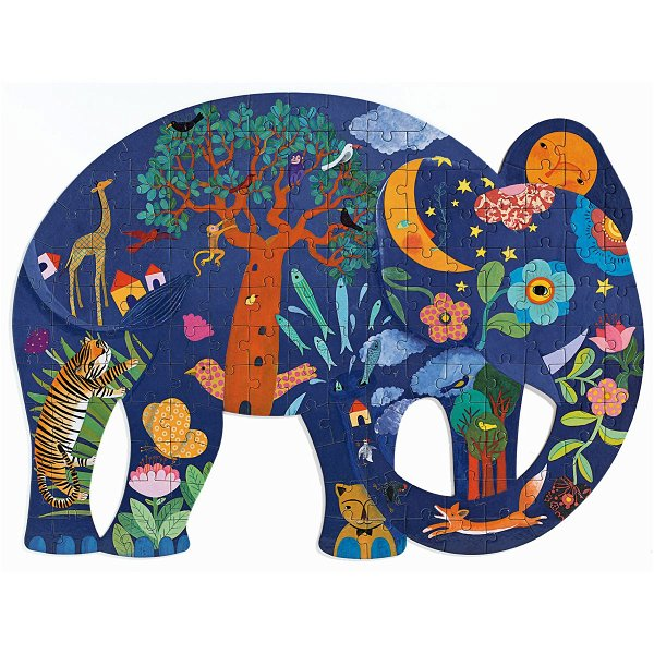 Djeco Puzzle Puzz`Art Elefant 150 Teile