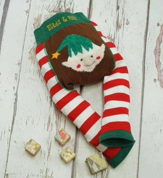 Blade & Rose Fluffy Christmas Elf Leggings