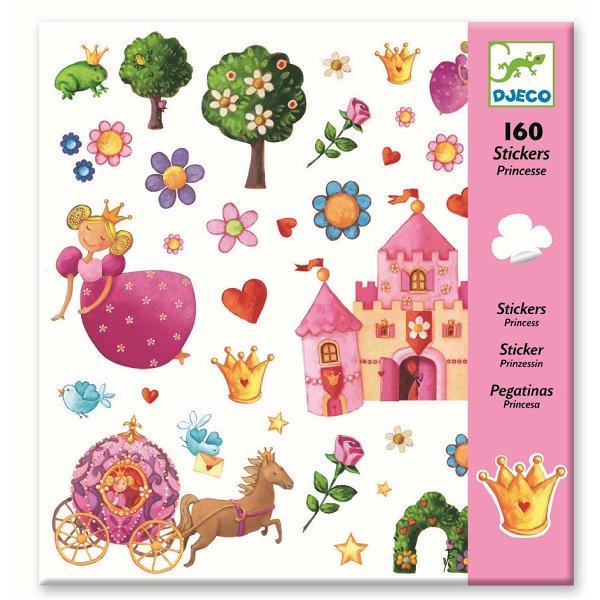 Djeco Stickerbogen Princess Marguerite