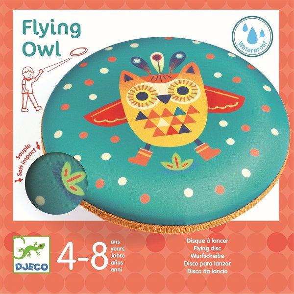 Djeco Wurfscheibe Flying Owl
