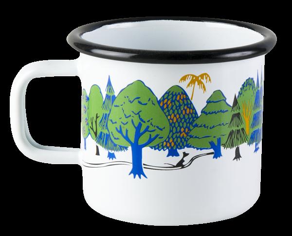 Muurla Emaille Tasse Moomin Valley Colors 370 ml