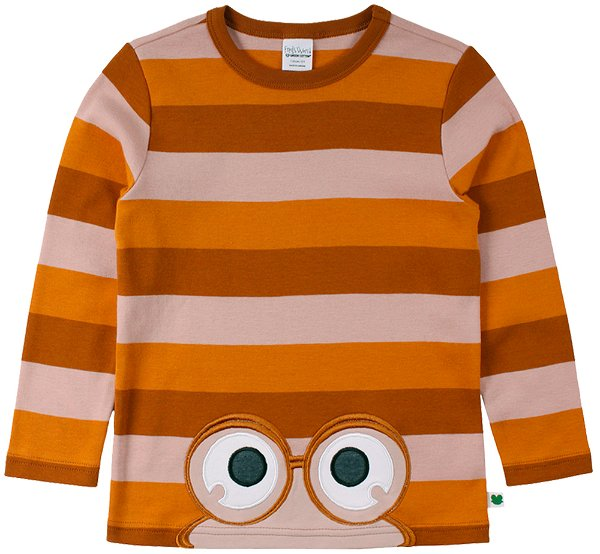Fred`s World by Green Cotton Stripe Peep T-Shirt Toscana