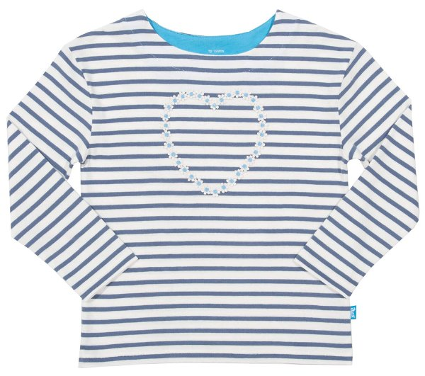 Kite Breton Heart Shirt